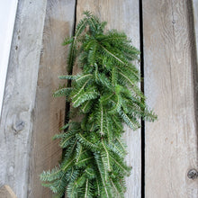 Load image into Gallery viewer, Fresh Fraser Fir Garland (24 Inch to 18 Feet)
