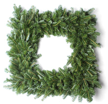 Load image into Gallery viewer, 30 Inch Fraser Fir Square Christmas Wreath