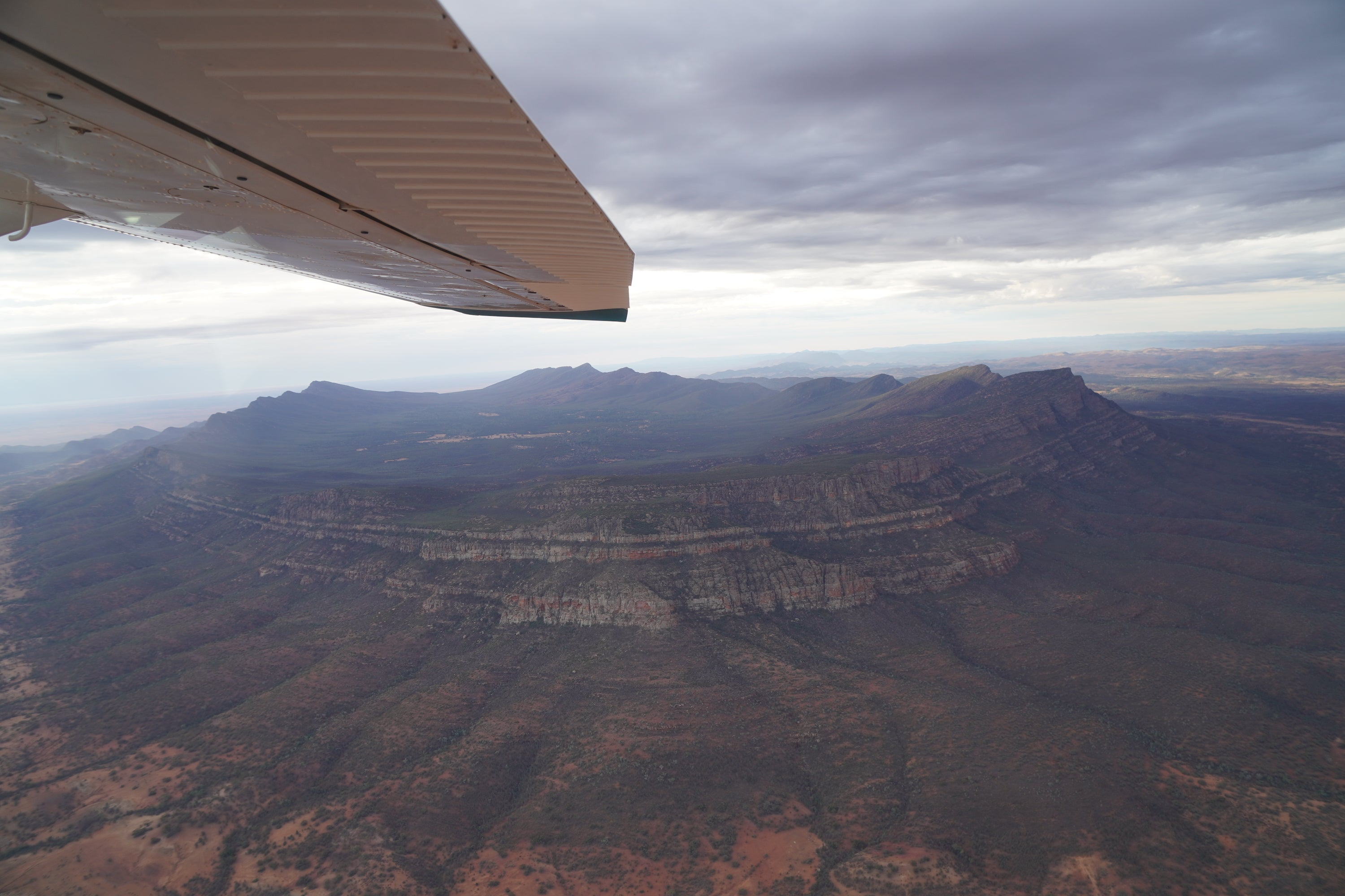 Aerial View Of Wilpena Pound