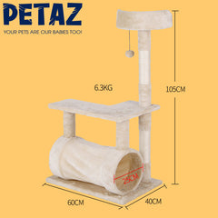 Cat Tree Tower Scratching Posts Capsule Nest