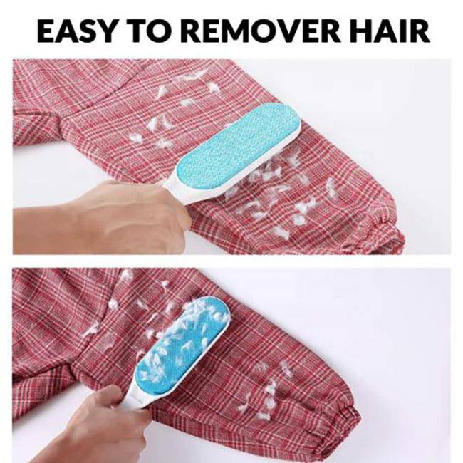 Self Cleaning Dog Grooming Pet Hair Remover Blue - petazaustralia