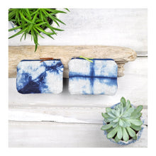 Load image into Gallery viewer, Shibori Coin Purse by Gray Green Goods