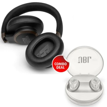BUY COMBO WIRELESS HEADPHONE & GET FREE X TRULY WIRELESS BLUETOOTH EARBUDS