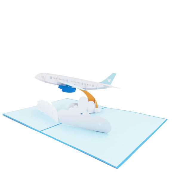Airplane Pop Up Card