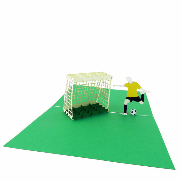Soccer Pop Up Card-darker color