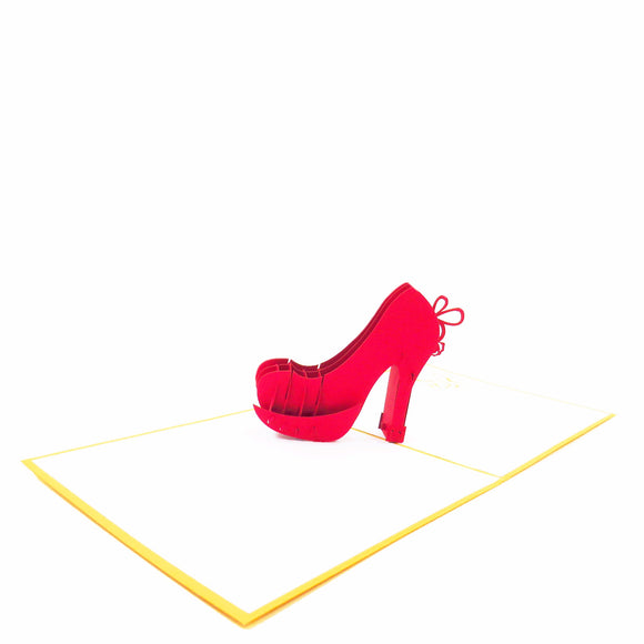 High Heel Card