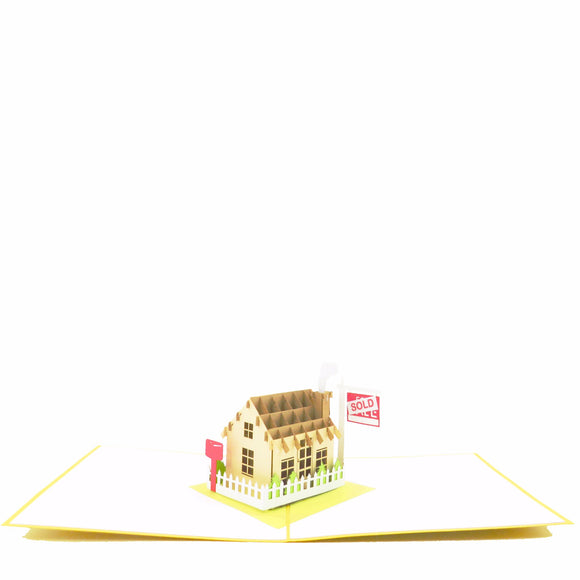 House Is Sold Realtor Greeting Card