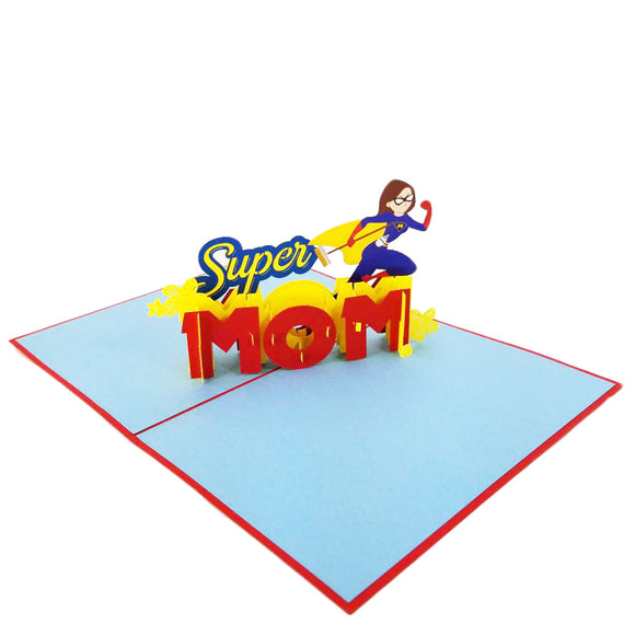 Super Mom Pop Up Card