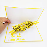 Bee Mine Happy Valentines Day Pop Up Card