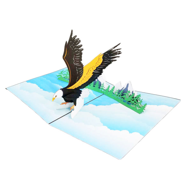 Eagle Pop Up Card