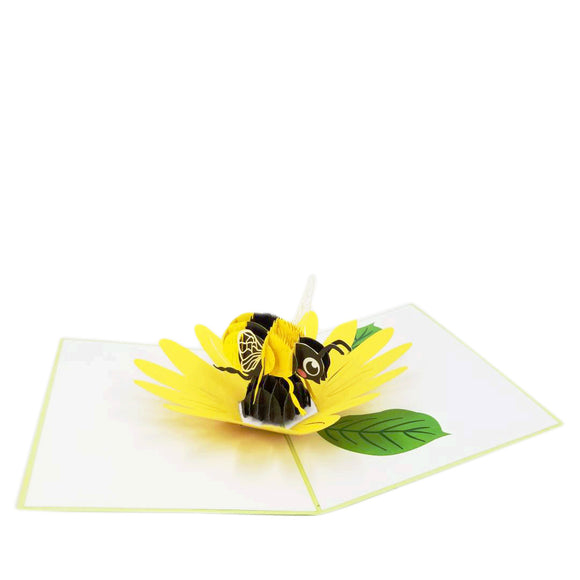 Bee Pop Up Card
