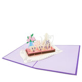 Tea Party Pop Up Card