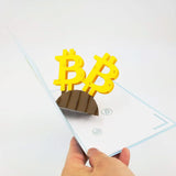 Bitcoin Pop Up Card