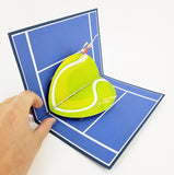 Tennis Birthday Card