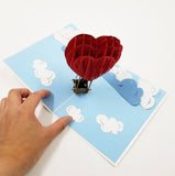 Love Balloon Pop Up Card