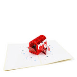 Santa Letter Christmas Pop Up Card