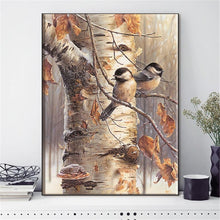 Load image into Gallery viewer, Winter Birds Cross-Stitch Kit