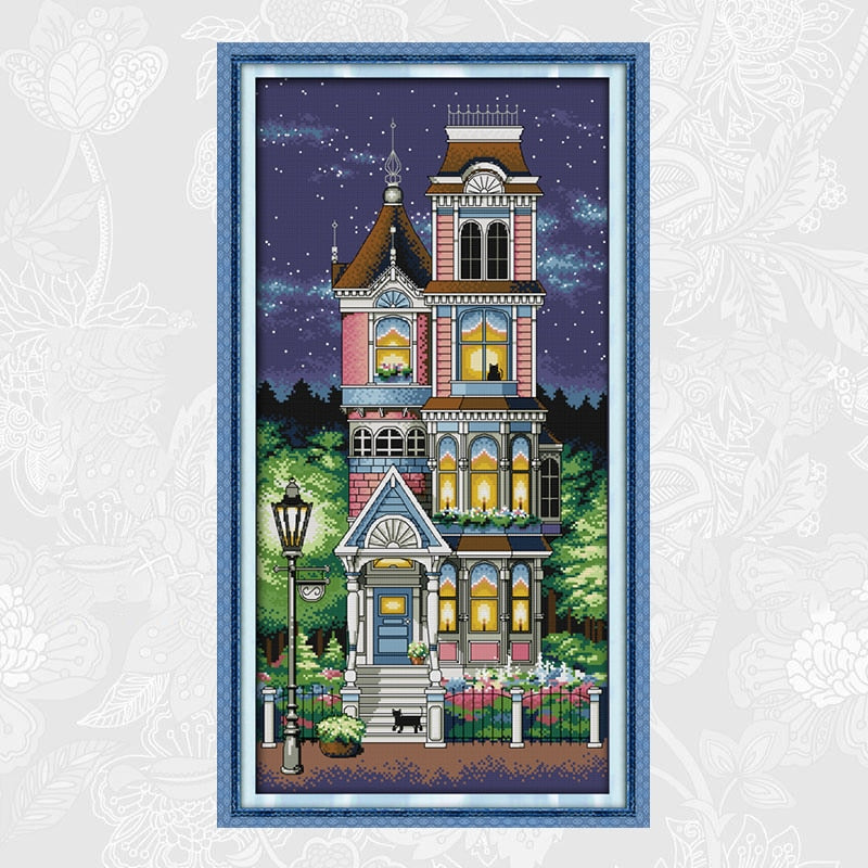 A Quiet Night Cross-Stitch Kit