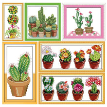 Load image into Gallery viewer, Cactus Series Cross-Stitch Kit
