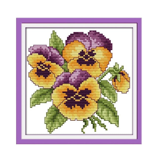 Flower Series Cross-Stitch Kit