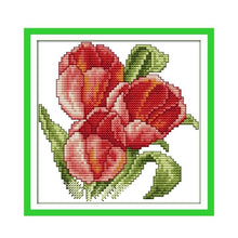 Load image into Gallery viewer, Flower Series Cross-Stitch Kit