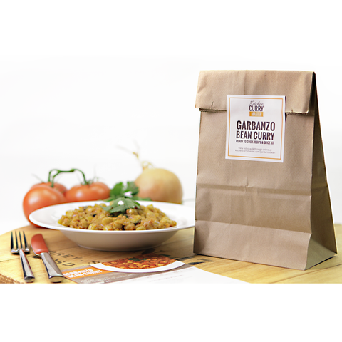 Garbanzo Bean Curry (Chana Masala) Recipe & Spice Kit