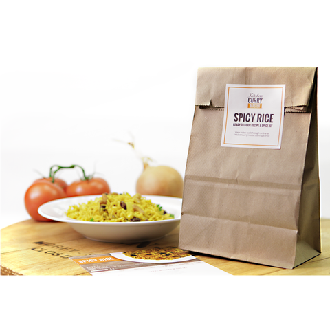 Spicy Rice Recipe & Spice Kit