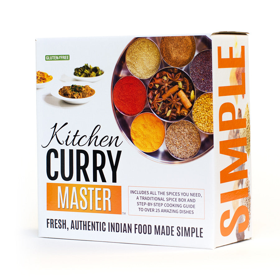 The complete indian cooking kit kitchen curry master the master set forumfinder Image collections