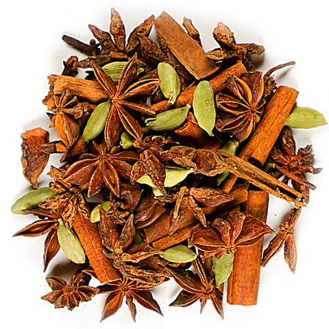 Mixed Spices 5 oz: Cinnamon Sticks, Green Cardamom, Cloves, Star Anise & Peppercorns