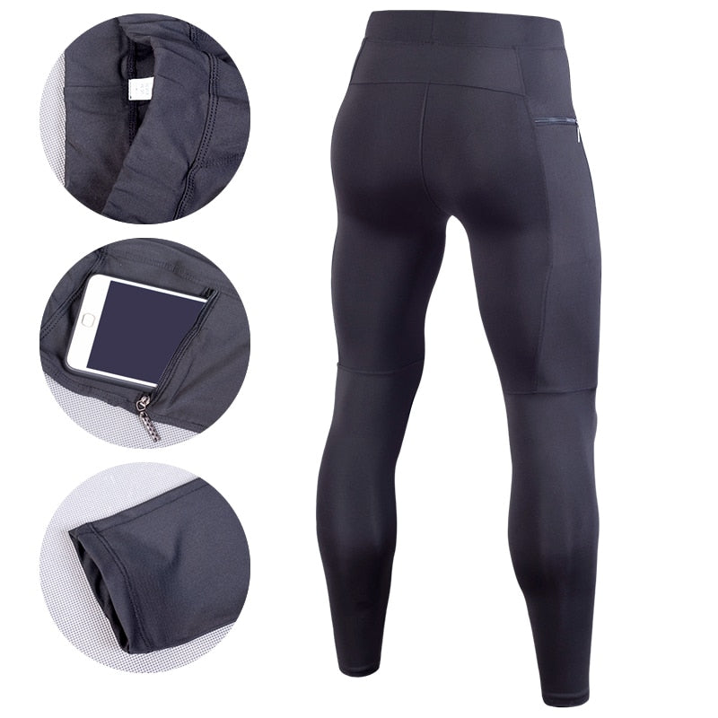 Men Compression Pant Running Tights