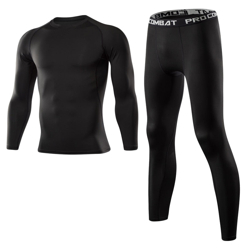 Fitness Compression Suits Running Set