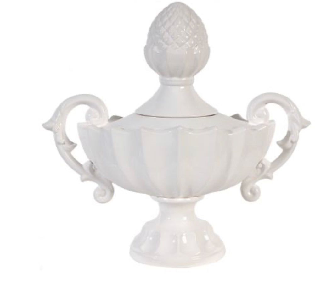 White Manor Urn