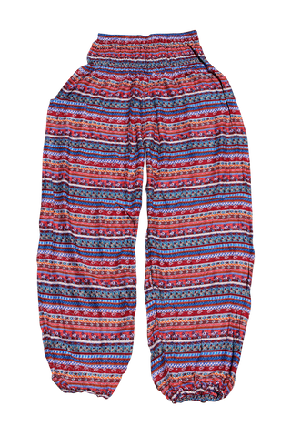 anka stripes harem yoga pants bohemian island