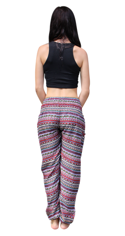 apra stripes harem yoga pants bohemian island