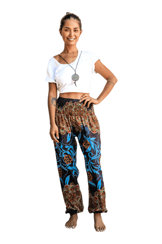 Black Ivy Harem Pants from Bohemian Island