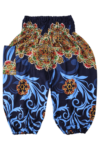 Black Ivy Kids Harem Pants from Bohemian Island