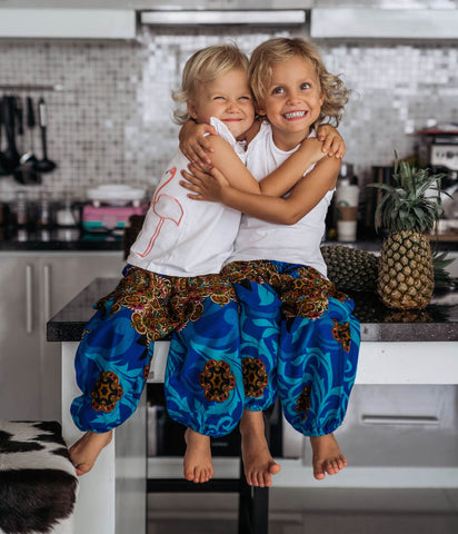 Blue Ivy Kids Harem Pants from Bohemian Island
