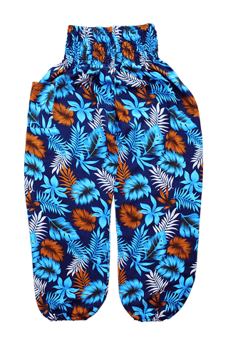 Blue Rainforest Harem Pants from Bohemian Island