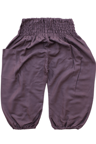 Brown Kids Harem Pants, bohemian pants for children from Bohemian Island