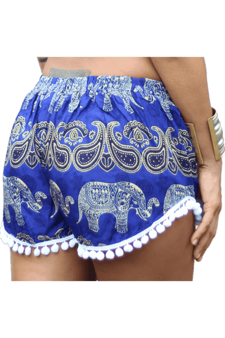 Kamala Elephant Shorts made from cotton from Bohemian Island