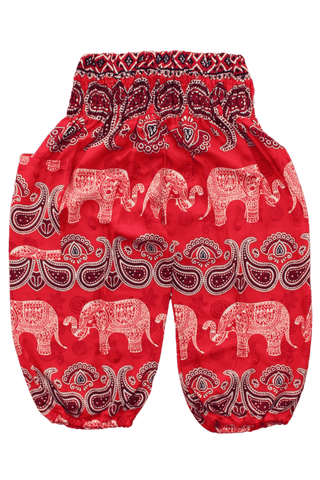 Malee Elephant Kids Harem Pants, elephant pants for kids from Bohemian Island