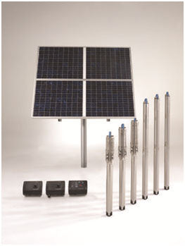 Solar pump array