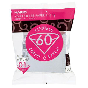 HARIO V60 PAPER FILTER 01/02 - kafferaven