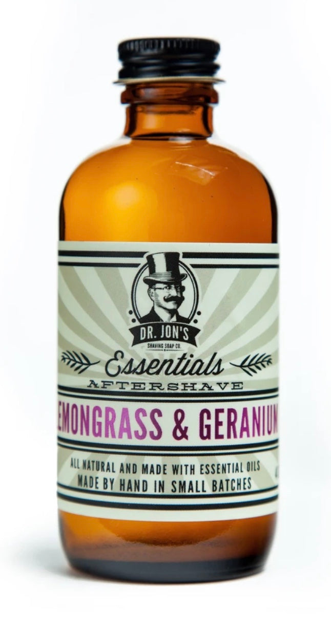 ESSENTIALS LEMONGRASS & GERANIUM AFTERSHAVE TONIC