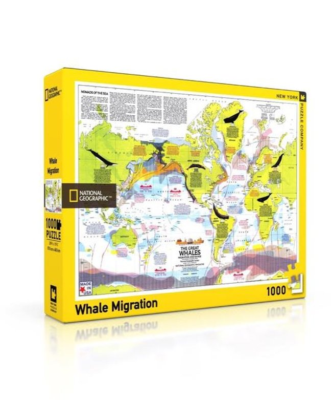National Geographic Puzzle: Whale Migration