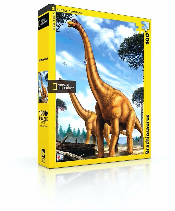 National Geographic Puzzle: Brachiosaurus