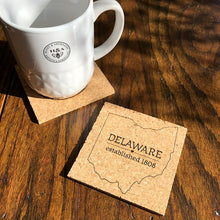 Load image into Gallery viewer, Honey & Abernathy Cork Coaster