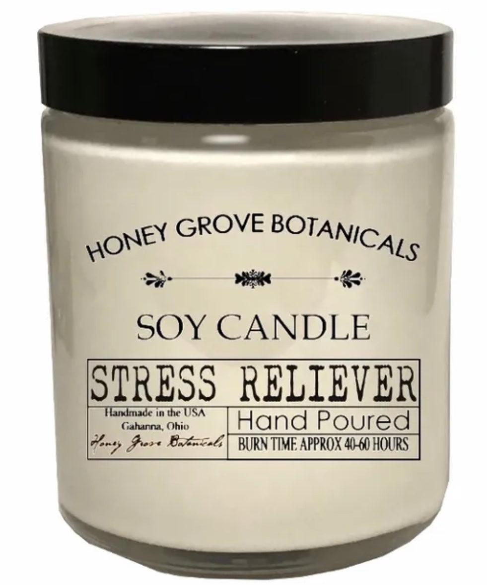 Stress Reliever Soy Candle