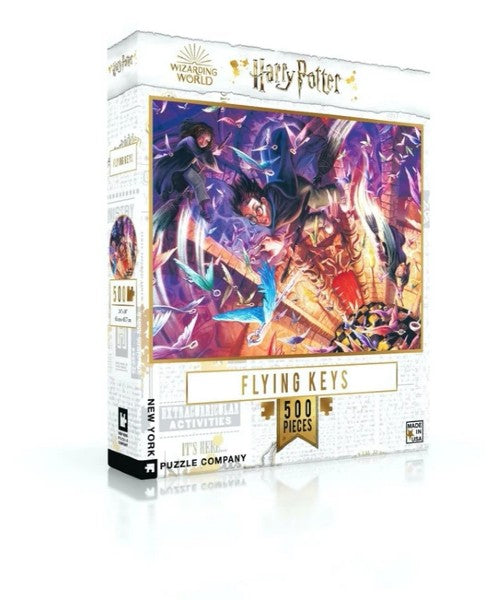 Harry Potter puzzle: Flying Keys