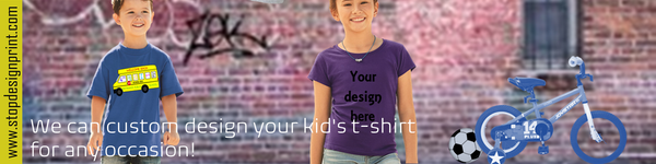 KID'S CLASSIC T-SHIRTS | BEST KID'S CUSTOM T-SHIRTS FOR ANY OCCASSION